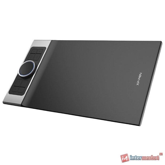 Графический планшет, XP-Pen, Deco Pro Small, Разрешение 5080 lpi, Чувствительность к нажатию 8192, Интерфейс USB, Рабочая область 230130 мм., Серый