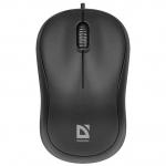 Мышь проводная Defender Patch MS-759 (Черный), USB 2кн, 1кл-кн, коробочка, НОВИНКА!