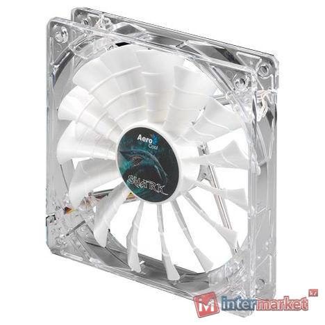 Кулер AeroCool Shark Fan White Edition 14cm